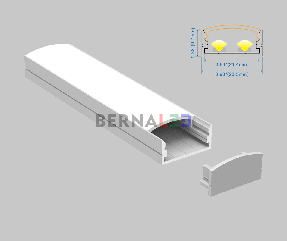 BPS231001 - 23x10mm Surface Mounted