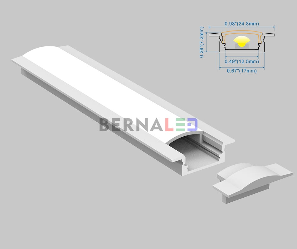 BPS170702 - 25x7mm Recessed Mounted
