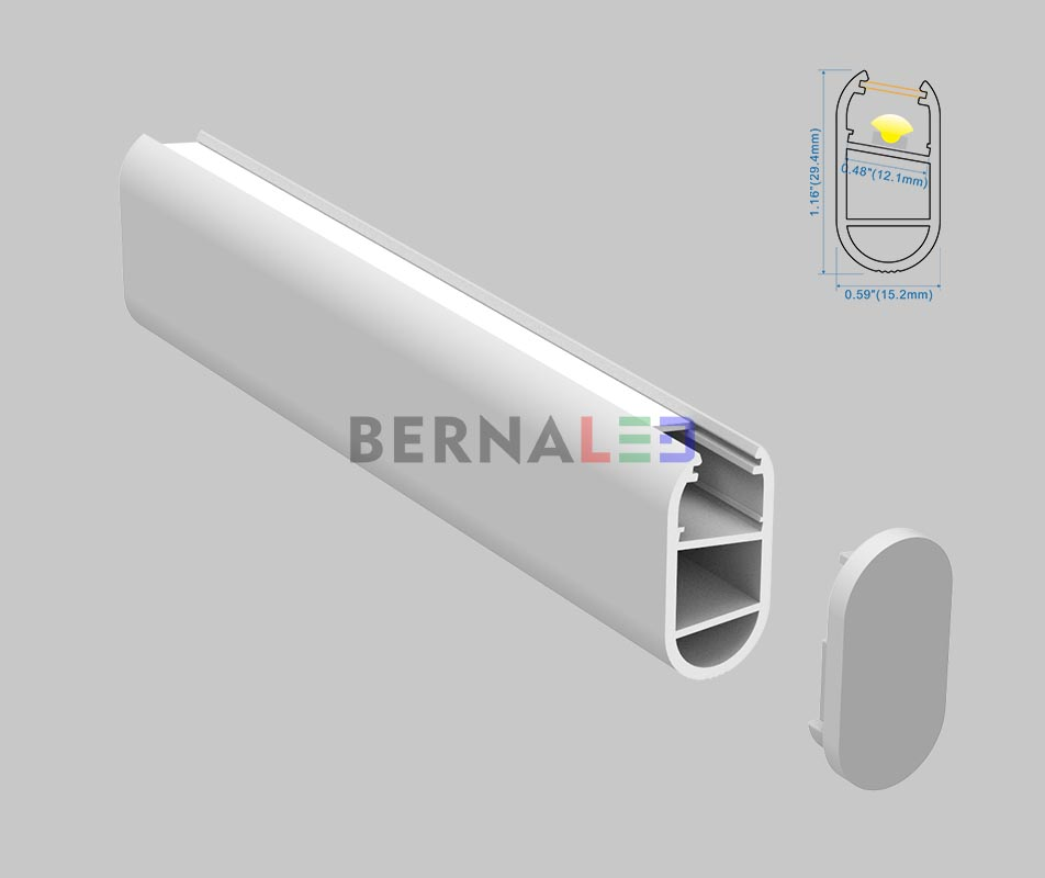 BPS153001 - 15x30mm Cabinet Profile