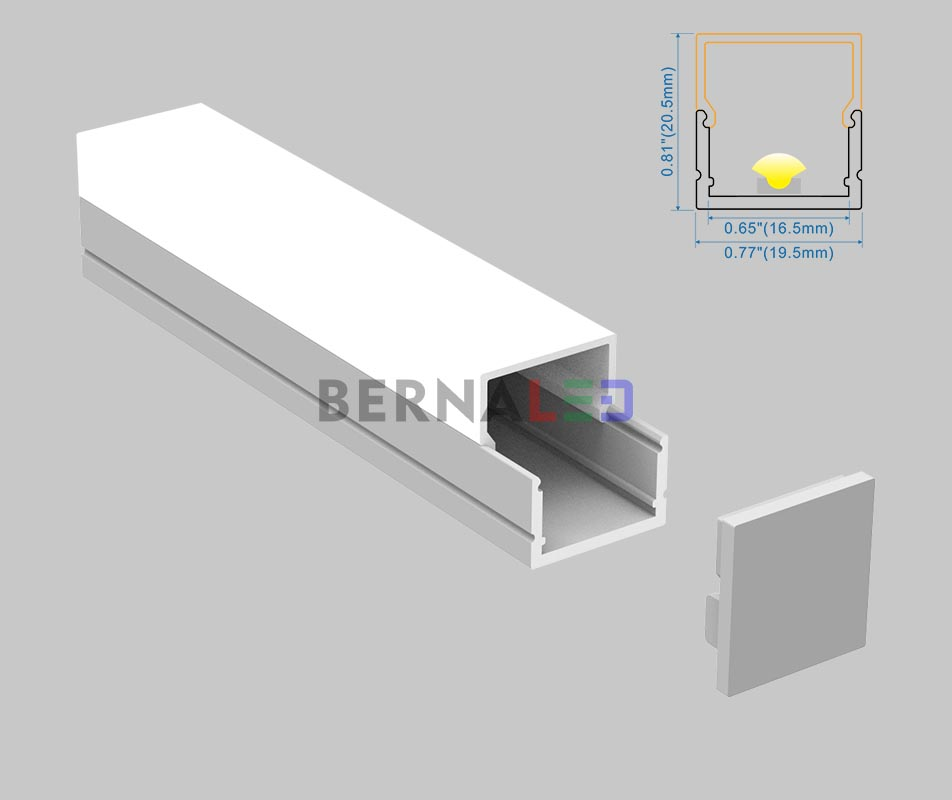 BPS202004 - 20x20mm Surface Mounted