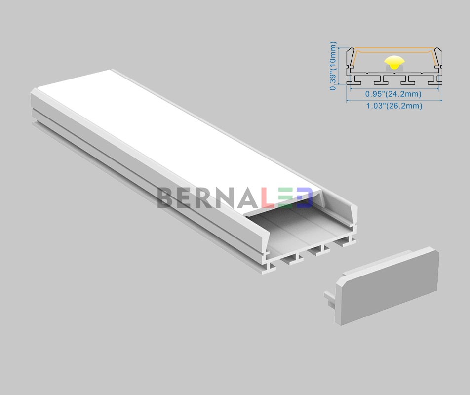 BPS261001 - 26x10mm Surface Mounted