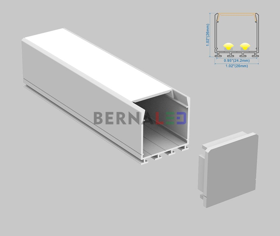 BPS262601 - 26x26mm Surface Mounted