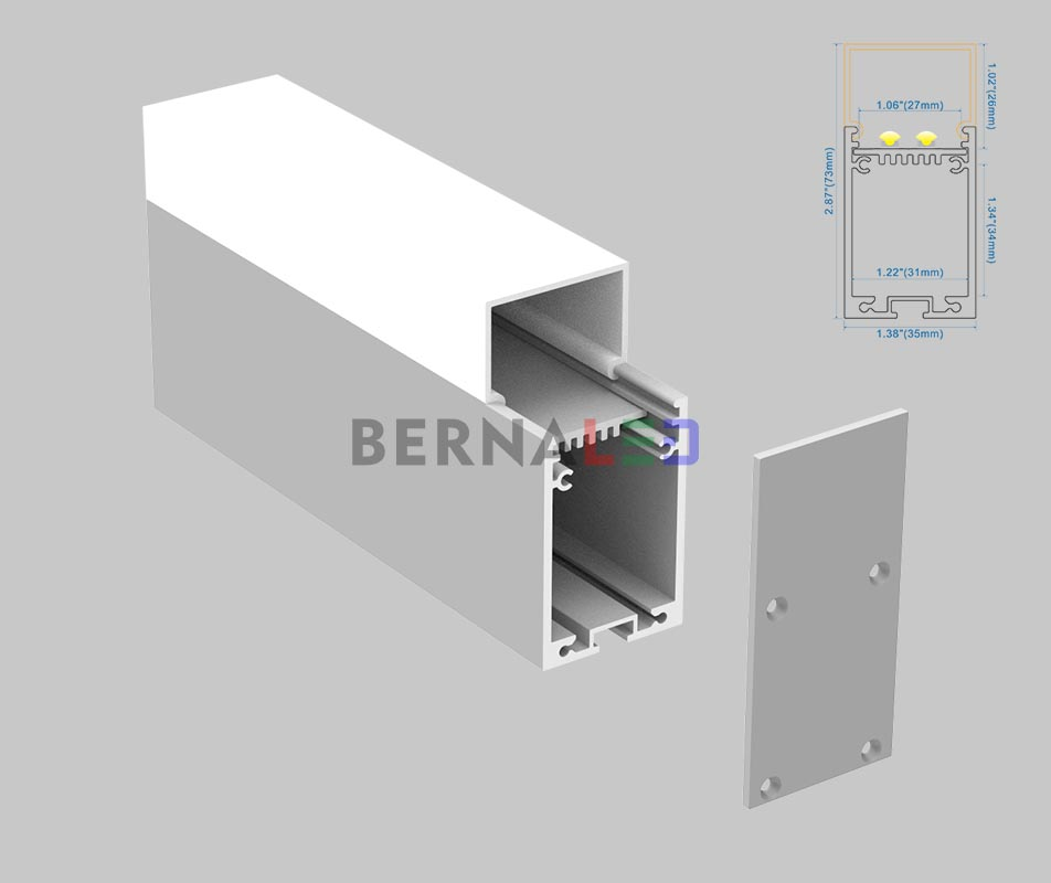 BPS357301 - 35x73mm Suspended