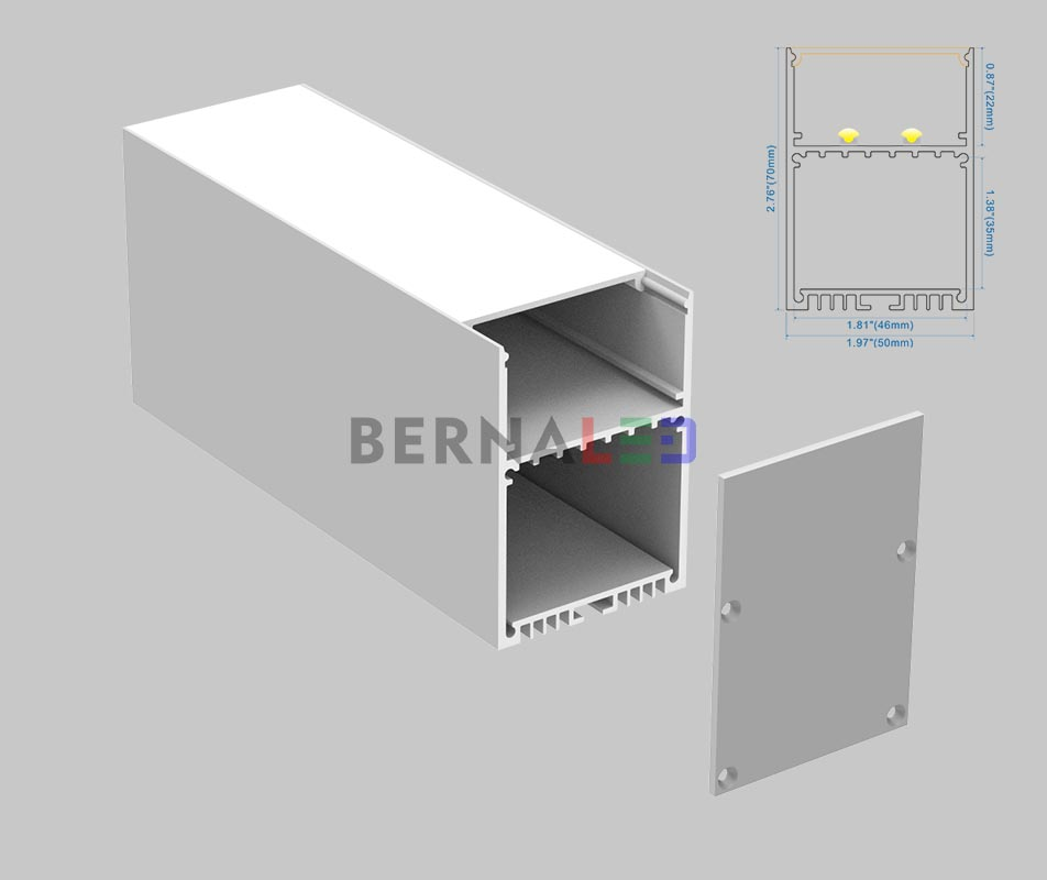 BPS507001 - 50x70mm Suspended