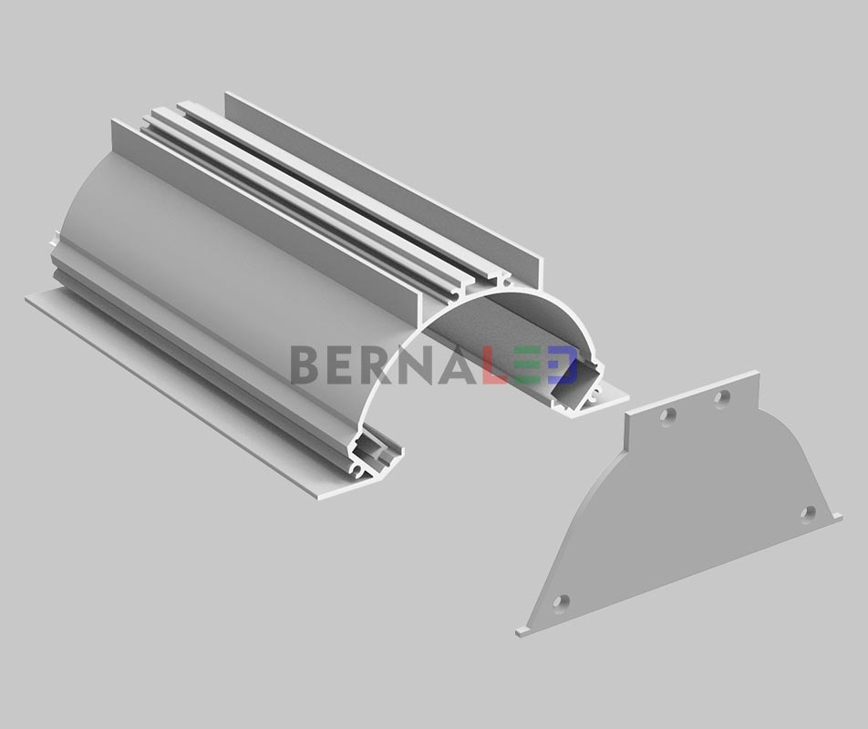 BPS1005001 - 100x50mm Wall Mounted